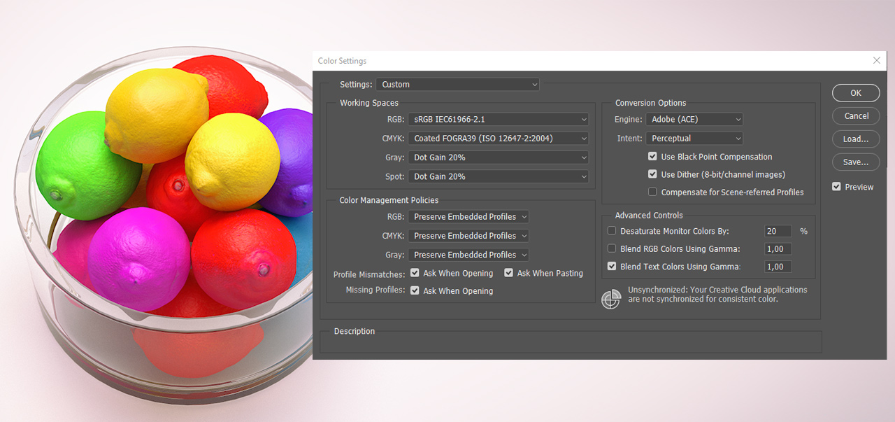 features | Exr-IO free Photoshop OpenEXR plug-in