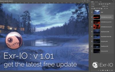 Exr-IO v 1.01 update released