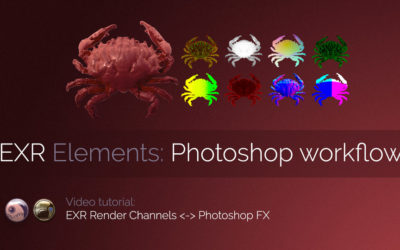 Exr-IO Photoshop Workflow