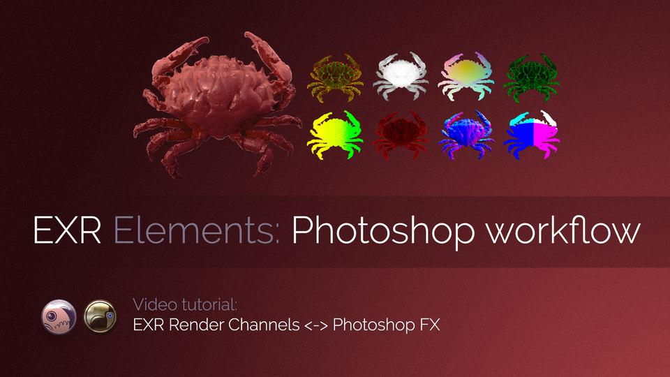 Exr-IO Photoshop Workflow