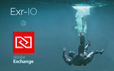 Exr-IO now available in Adobe Exchange!
