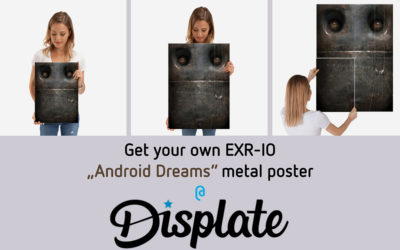 Get your Exr-IO Robot Metal Poster