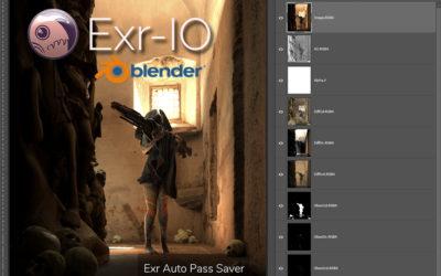 Exr Saver for Blender