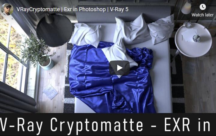 VRay5 Cryptomatte EXR Tutorial