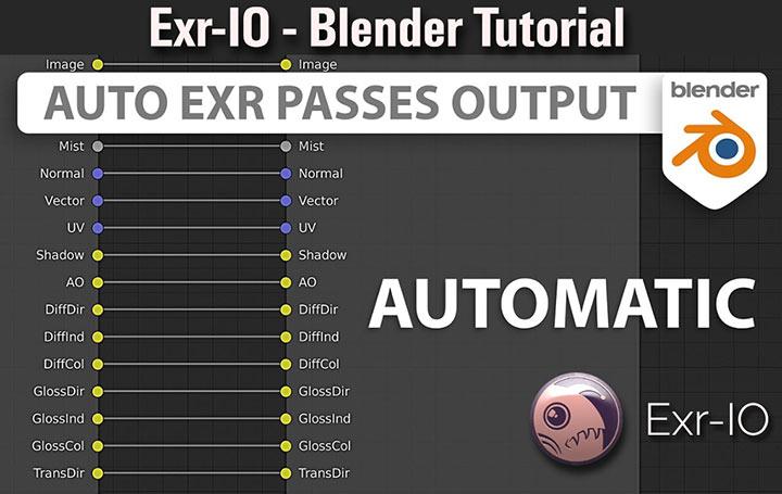 Exr-IO Blender Render Elements Tutorial