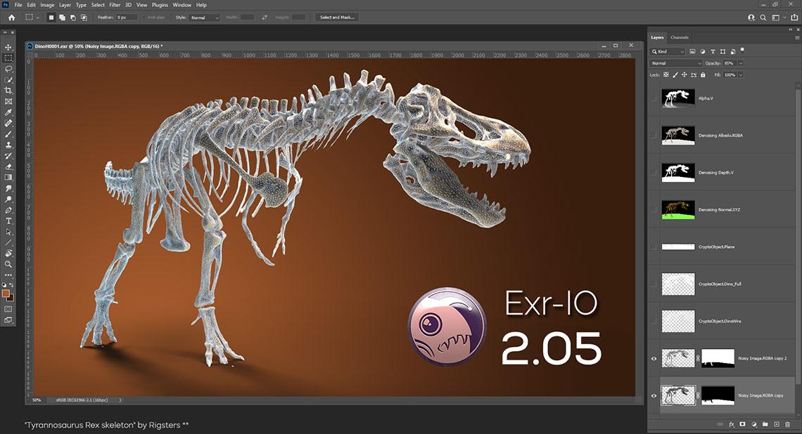 Exr-IO for Adobe Photoshop Version 2.05.00 - 2022 Fix